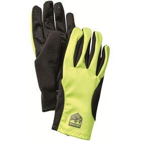 Hestra Runners All Weather 5 Finger Gloves yellow